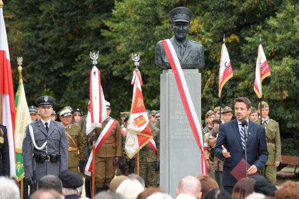 Odsłonięcie pomnika generała Ścibor-Rylskiego Radek Pietruszka / PAP