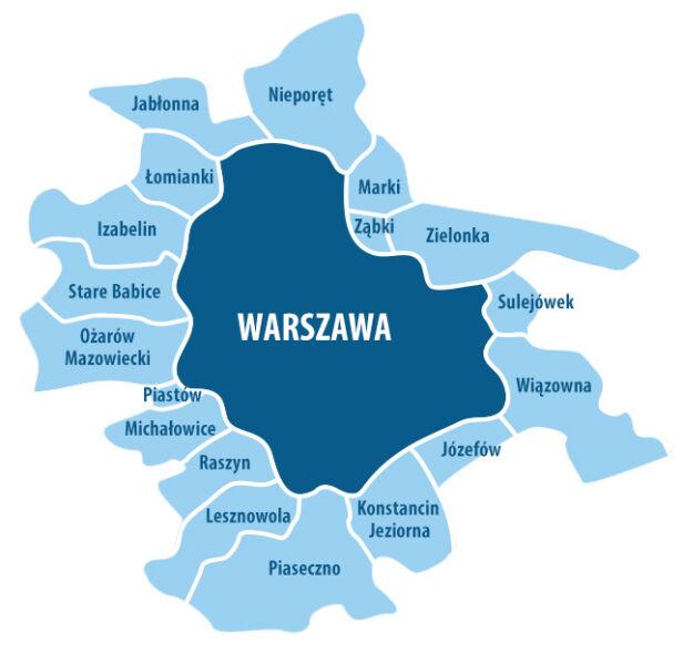 Warszawa i okoliczne gminy tvn24.pl