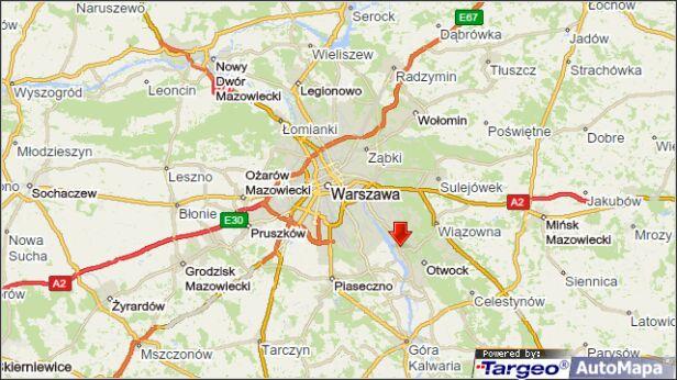 Utrudnienia na wylocie z Warszawy targeo