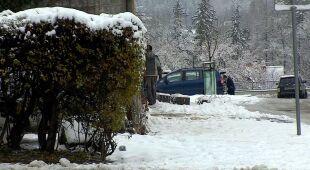 Śnieg w Karpaczu