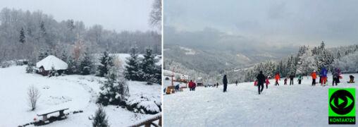 Miejscami w Polsce zrobiło się biało. Reporterzy 24 na tropie śniegu