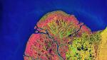 Delta Jukonu, 22.09.2002 (NASA's Goddard Space Flight Center/USGS)