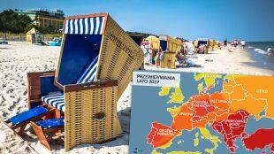 Jakie będzie lato w Europie? Przewidywania amerykańskich meteorologów